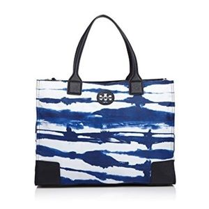 Tory Burch Ella tie dye nylon tote bag